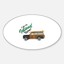 Island Time Car Decal