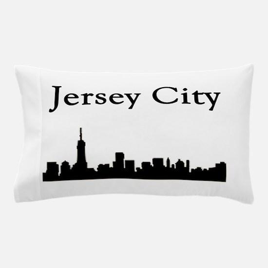 Jersey City Skyline Pillow Case