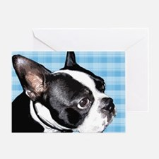 Boston Terrior Greeting Card