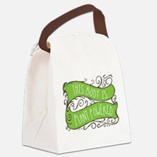 Plant Powered Body Canvas Lunch Bag