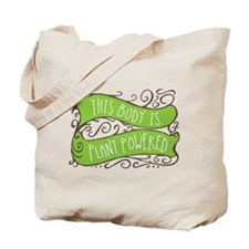 Plant Powered Body Tote Bag