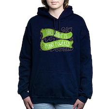 Plant Powered Body Women's Hooded Sweatshirt