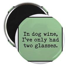 Cute Wine glass Magnet
