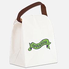 Green Seitanist Canvas Lunch Bag