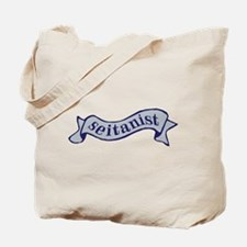 Navy Seitanist Tote Bag