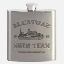 ALCATRAZ SWIM TEAM Flask