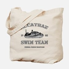 ALCATRAZ SWIM TEAM Tote Bag