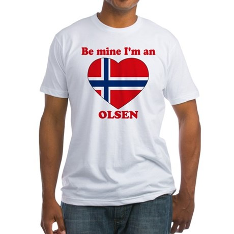 Olsen, Valentine's Day Fitted T-Shirt