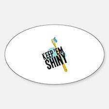 Keep Em Shiny Decal