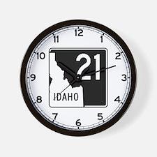 Route 21, Idaho Wall Clock