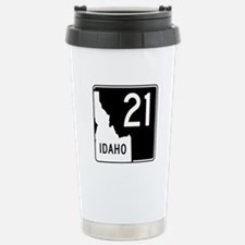 Route 21, Idaho Stainless Steel Travel Mug