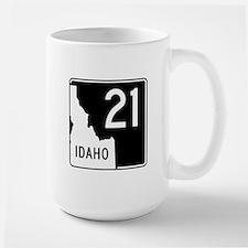 Route 21, Idaho Large Mug
