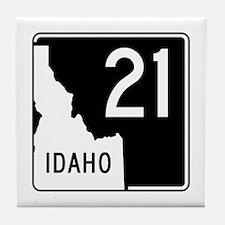 Route 21, Idaho Tile Coaster