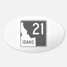 Route 21, Idaho Sticker (Oval)