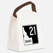 Route 21, Idaho Canvas Lunch Bag