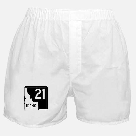 Route 21, Idaho Boxer Shorts