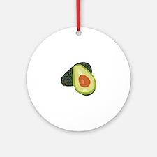 Avacado Ornament (Round)