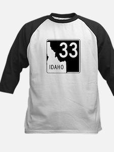 Route 33, Idaho Kids Baseball Jersey