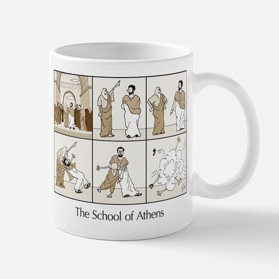 Basic School of Athens Mug