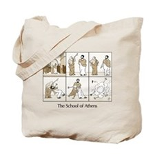 Basic School of Athens Tote Bag