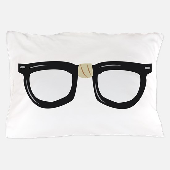Broken Glasses Pillow Case
