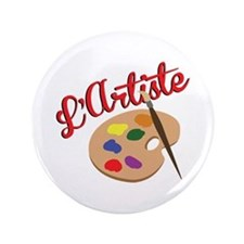 "Artist Palette 3.5"" Button"