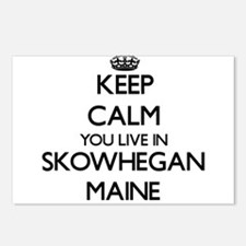 Keep calm you live in Sko Postcards (Package of 8)
