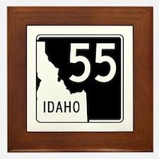 Route 55, Idaho Framed Tile
