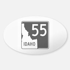 Route 55, Idaho Sticker (Oval)