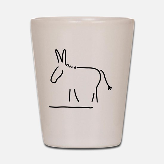Cool Mule Shot Glass