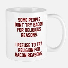 Religion bacon reasons Mug