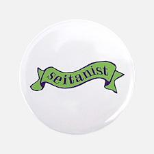"""Green Seitanist 3.5"""" Button"""