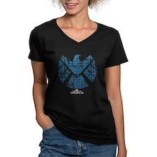 SHIELD Logo Alien Writ Shirt