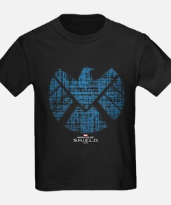 SHIELD Logo Alien Writing T