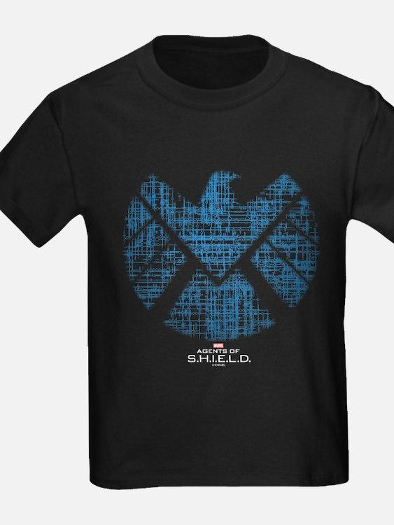 SHIELD Logo Alien Writing T