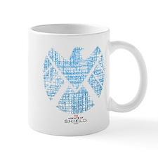 SHIELD Logo Alien Writing Mug