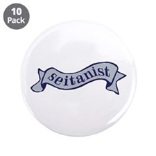 "Navy Seitanist 3.5"" Button (10 pack)"