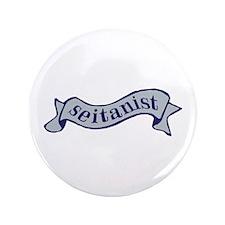 """Navy Seitanist 3.5"""" Button"""
