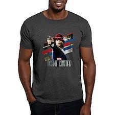 Agent Carter Stripes T-Shirt