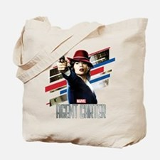 Agent Carter Stripes Tote Bag