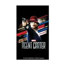 Agent Carter Stripes Decal