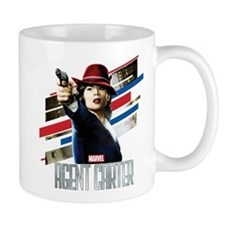 Agent Carter Stripes Small Mug