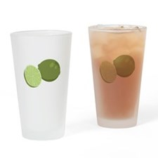 Lime Drinking Glass