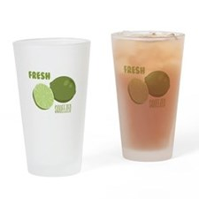 Lime Jiuice Drinking Glass