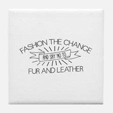 Fashion the Change Tile Coaster