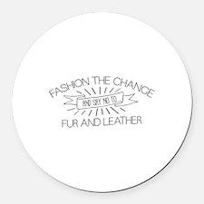 Fashion the Change Round Car Magnet