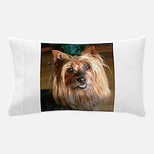Australian Silky Terrier headstudy Pillow Case