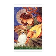 Mandolin Angel & Papillon Decal