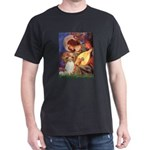 Mandolin Angel & Papillon Dark T-Shirt