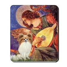 Mandolin Angel & Papillon Mousepad